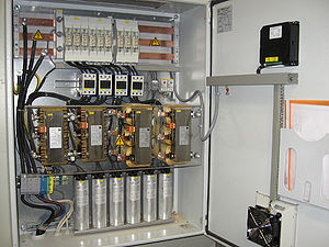 English: Power Factor Correction Unit, 75 kvar...