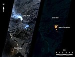 PIA11239 - NASA Spacecraft Watches as Eruption Reshapes African Volcano, Annotated Version.jpg