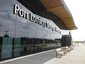 Olsztyn-Mazury Airport - Image: POL Olsztyn Mazury Airport 09