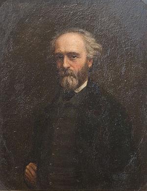 Constant Dutilleux - Self portrait (Musée des beaux-arts d'Arras)