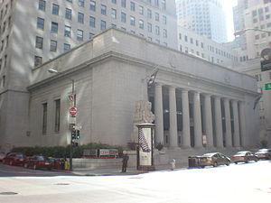 Pacific Exchange - Pacific Coast Stock Exchange at 301 Pine Street in San Francisco.