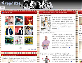 Pageflakes - Sample Pageflakes page