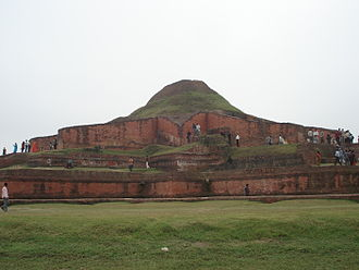 History of Bengal - Somapura Mahavihara, the greatest Buddhist vihara in the Indian subcontinent, built by Emperor Dharmapala.