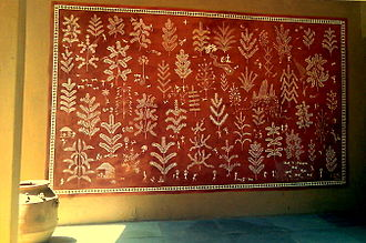 Dadra and Nagar Haveli - Warli Painting at Saskriti Kendra, New Delhi