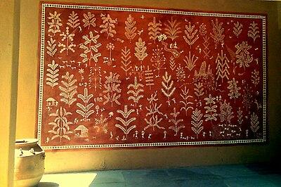Warli paintings at Sanskriti Kendra Museum, Anandagram, New Delhi