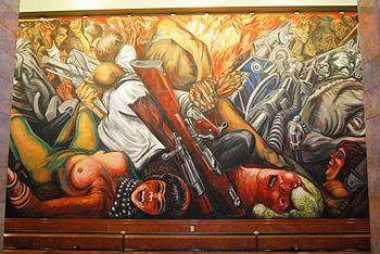 Palacio de Bellas Artes - Mural Katharsis Orozco 2