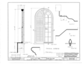 Palatine Church, State Route 5, Nelliston, Montgomery County, NY HABS NY,29-NEL.V,1- (sheet 10 of 12).png