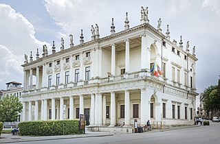 palace in Vicenza, Italy