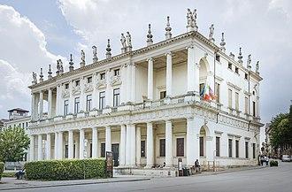 Andrea Palladio - Façade of Palazzo Chiericati in Vicenza