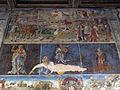 Palazzo schifanoia, salone dei mesi, 08 agosto (maestro dell'agosto o gherardo da vicenza), trionfo di cerere 01.JPG