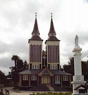 Panguipulli - Panguipulli's Capuchin church