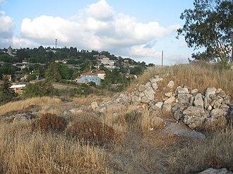 Bayt Mahsir - Image: Panorama feom west