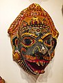 Papier-mâché mask at Odisha Crafts Museum, Bhubaneswar, Odisha, India.jpg
