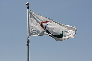 Paralympic symbols - The Paralympic flag