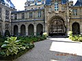 Paris, France. Hotel Carnavalet. (PA00086125)(The garden with the gate).jpg