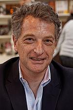Hervé Gaymard, homme politique savoyard, au salon du livre à Paris en 2012