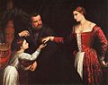 Paris Bordon - Lady and Gentleman with their Daughter -Chatsworth House - Derbyshire.jpg