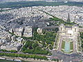Paris View from the Eiffel Tower third floor Palais de Chaillot 2015 02.jpg