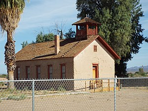 National Register of Historic Places listings in La Paz County, Arizona - Image: Parker Old Presbyterian Church 1917 1