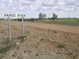 Paroo River - Image: Paroo R