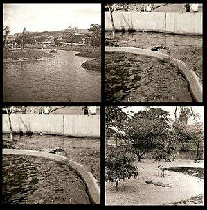 Parque del Este - East Park facilities in the late 1960s