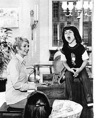 The Partridge Family - Shirley Jones and Ricky Segall, season 4