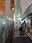 Pathway to arrivals at Hamad Airport, May 2014 (2).jpg