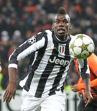 Paul Pogba - Pogba playing for Juventus against Shakhtar Donetsk in the UEFA Champions League, December 2012