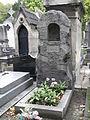 Pauline Viardot-Garcia, Grave Grab, Montmartre Cemetery 4.JPG