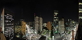 Paulista Avenue - Image: Paulista Panorama