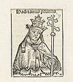 Paus Adrianus I Hadrianus primus (titel op object) Liber Chronicarum (serietitel), RP-P-2016-49-58-8.jpg
