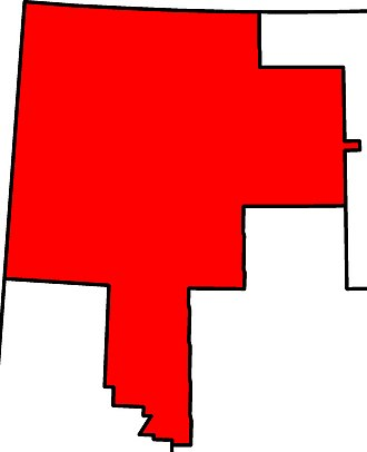 Peace River (provincial electoral district) - Image: Peace River electoral district 2010