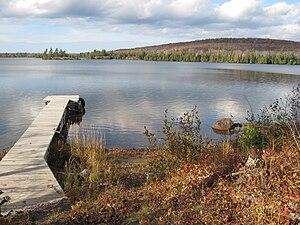 Lake Medora (Michigan) - Image: Peaceful Lake Medora