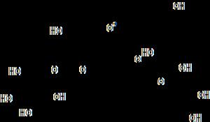 Pelargonin - Image: Pelargonidin 3 5 diglucoside