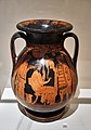 Pelike. Departure of a warrior. 5th cent. B.C.jpg