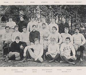 1892 Penn State Nittany Lions football team - Image: Penn State Football 1892