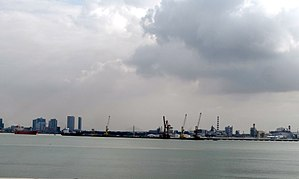 Perai - Prai Industrial Estate and the Port of Penang