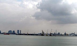Perai - Prai Industrial Estate and the Port of Penang