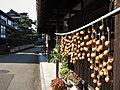 Persimmons drying in rural Fukui prefecture, Japan.jpg