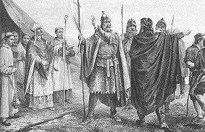 Прибытие короля Олафа в Норвегию