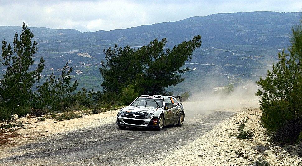 Petter Solberg - 2009 Cyprus Rally 4