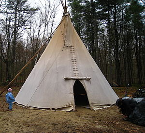 Religious Freedom Restoration Act -  This tipi is used for Peyote ceremonies in the Native American Church, one of the main religions affected by the Religious Freedom Restoration Act