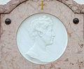 Pfarrkirche hl. Veit, Veitsch - epitaph Louise Déri - detail.jpg