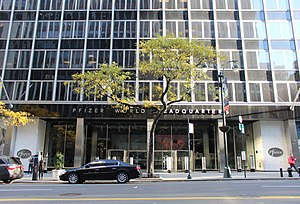 Pfizer World Headquarters Entrance.jpg