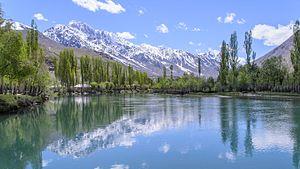 Phander Lake - Image: Phander Lake, Ghizer, Gilgit–Baltistan