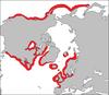 Phoca vitulina habitat