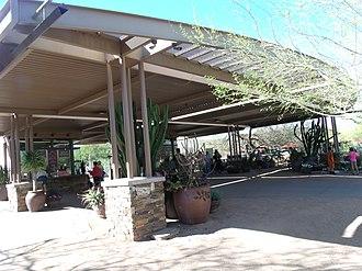 Desert Botanical Garden - Image: Phoenix Desert Botabical Garden Entrance