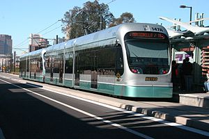 Valley Metro Rail - Phoenix light rail, downtown – 2009