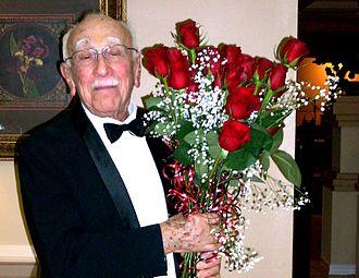 Irvin Borish - Picture taken on his 95th Birthday