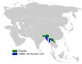 Phylloscopus cantator distribution map.png